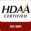 HDAA Certified ISO 9001Mark