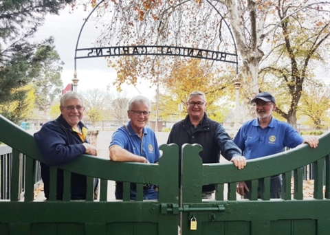 Rotary Club- Historic Gates