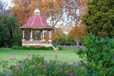 Rotunda in the Benalla Botanical Gardens